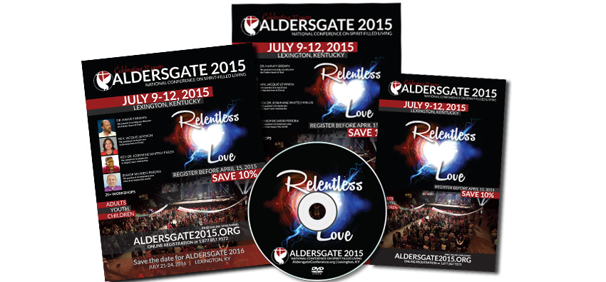 Aldersgate 2015 Promo Packs