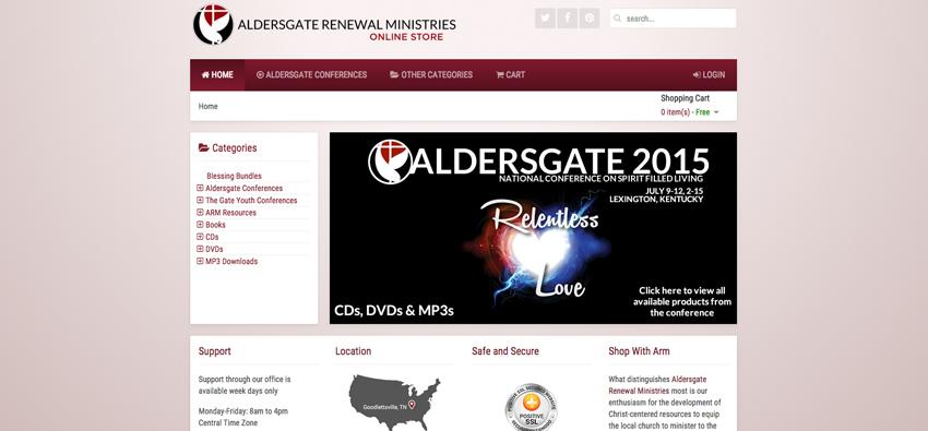 Aldersgate Bookstore Site